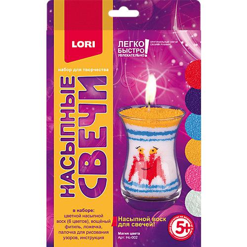 """Насыпной воск для свечей Lori """"Магия цвета"""""""