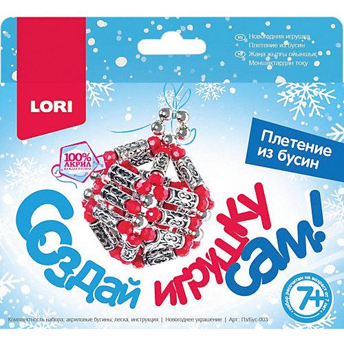 """Новогодняя игрушка Lori Плетение из бусин """"Новогоднее украшение"""" от LORI"""