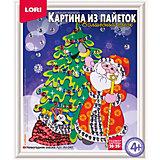"""Картина из пайеток Lori """"Новогодняя сказка"""""""