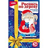 """Набор для росписи по дереву Lori """"Дед Мороз"""""""