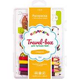 """Набор для раскрашивания Сотворелки. Travel-box для путешествий """"Сладости"""", (30 листов)"""