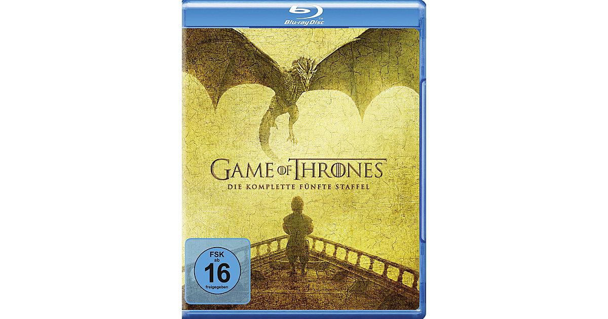 BLU-RAY Game of Thrones - Staffel 5 (4 BluRays) Hörbuch