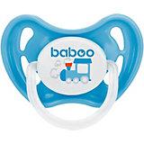 Соска-пустышка латексная Baboo Tansport с 0 мес