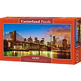 """Пазл Castorland """"Бруклинский мост, Нью-Йорк"""", 600 деталей"""