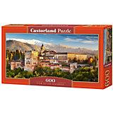 """Пазл Castorland """"Вид на Альгамбра"""", 600 деталей"""