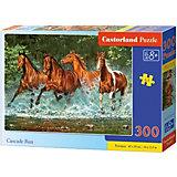 """Пазл Castorland """"Лошади, бегущие по воде"""", 300 деталей"""