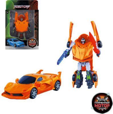 Трансформер Пламенный мотор Робот-Машина Суперкар