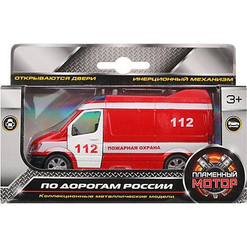 Машина металлическая Пламенный мотор Пожарная охрана от Пламенный мотор