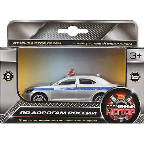 Машина металлическая Пламенный мотор Полиция ДПС от Пламенный мотор