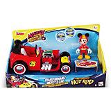 Игровой набор IMC Toys Микки и весёлые гонки Автомобиль Микки Мауса, 2 в 1