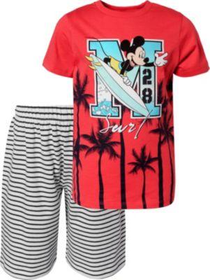 "9-10 Jahre 134-140 Disney Mickey Mouse Kinder T-Shirt /""weiß/"" Gr"