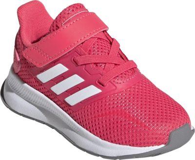 Baby Sportschuhe RUNFALCON für Mädchen, adidas Performance