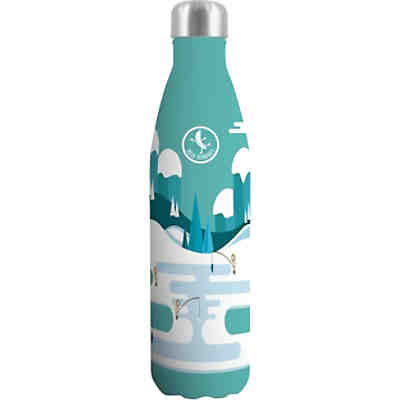 Edelstahl-Trinkflasche Blue Bananas Frosty Fishing, doppelwandig, 500