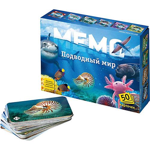 Карточная игра Нескучные игры Мемо Подводный мир от Нескучные игры