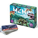 Карточная игра Нескучные игры Мемо Мир динозавров