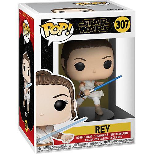 """Фигурка Funko POP! Bobble: """"Звездные войны: Эпизод 9"""" Рей, 39882 от Funko"""