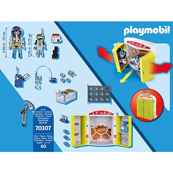 "PLAYMOBIL® 70307 Spielbox ""In der Raumstation"", PLAYMOBIL® q2wpgJ"