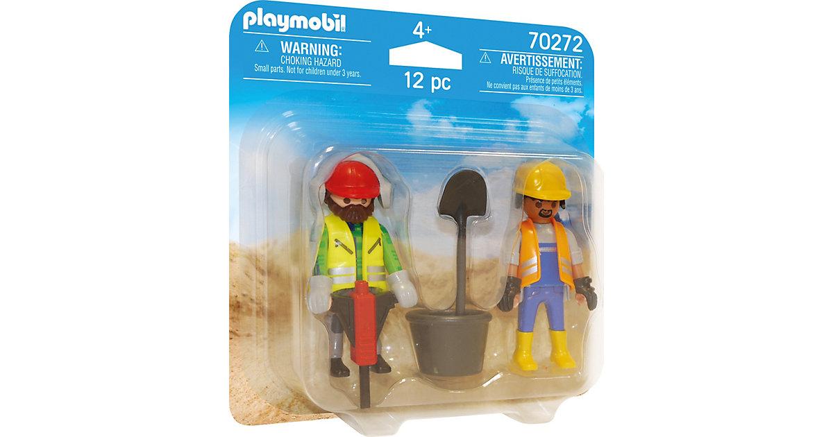 PLAYMOBIL® 70272 Duo Pack Zwei Bauarbeiter