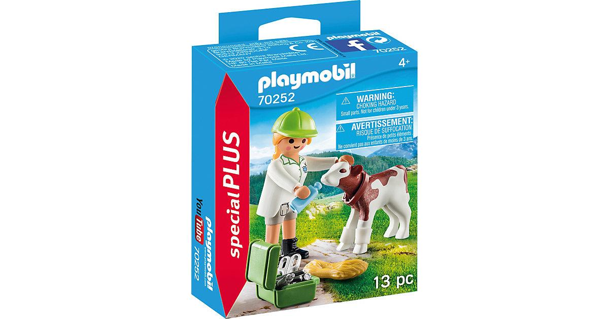 PLAYMOBIL® 70252 Special Plus: Tierärztin mit Kälbchen