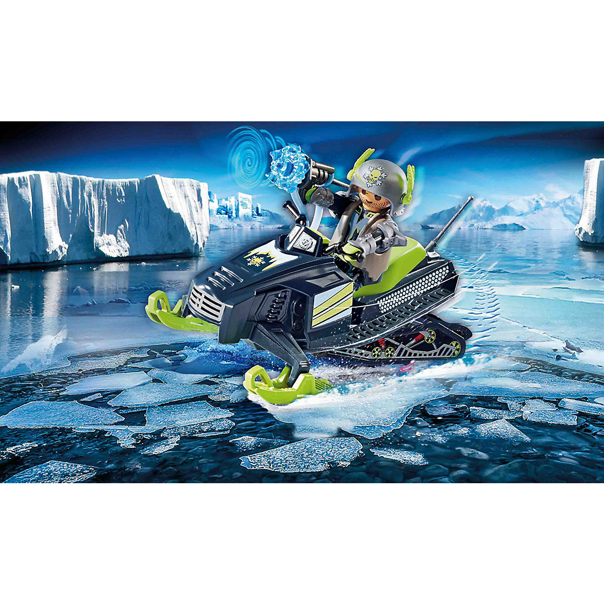PLAYMOBIL® 70235 Arctic Rebels Eisscooter PLAYMOBIL Top Agents Ay1AN