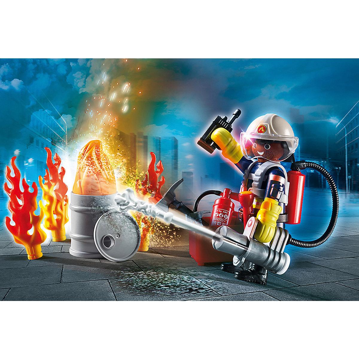 "PLAYMOBIL® 70291 Geschenkset ""Feuerwehr"" PLAYMOBIL City Action hGiNp"