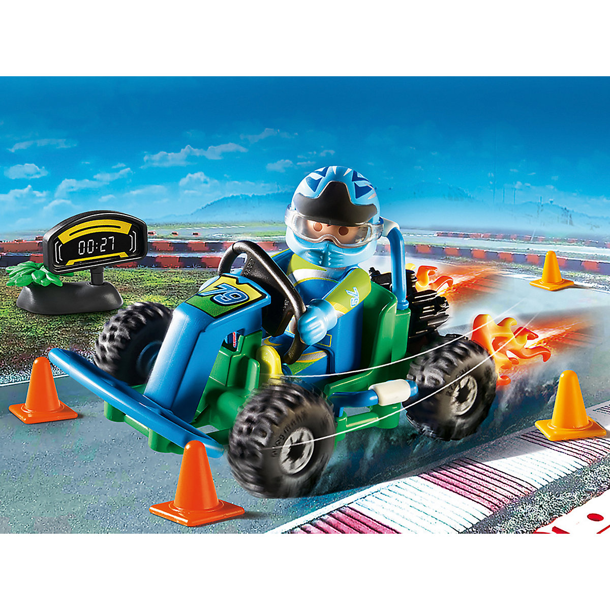 """PLAYMOBIL® 70292 Geschenkset """"Go Kart-Rennen"""" PLAYMOBIL City Life DZPaH"""