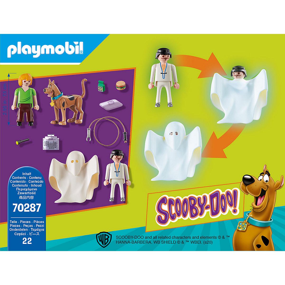 PLAYMOBIL® 70287 SCOOBY-DOO! Scooby & Shaggy mit Geist PLAYMOBIL SCOOBY-DOO! p2ueX