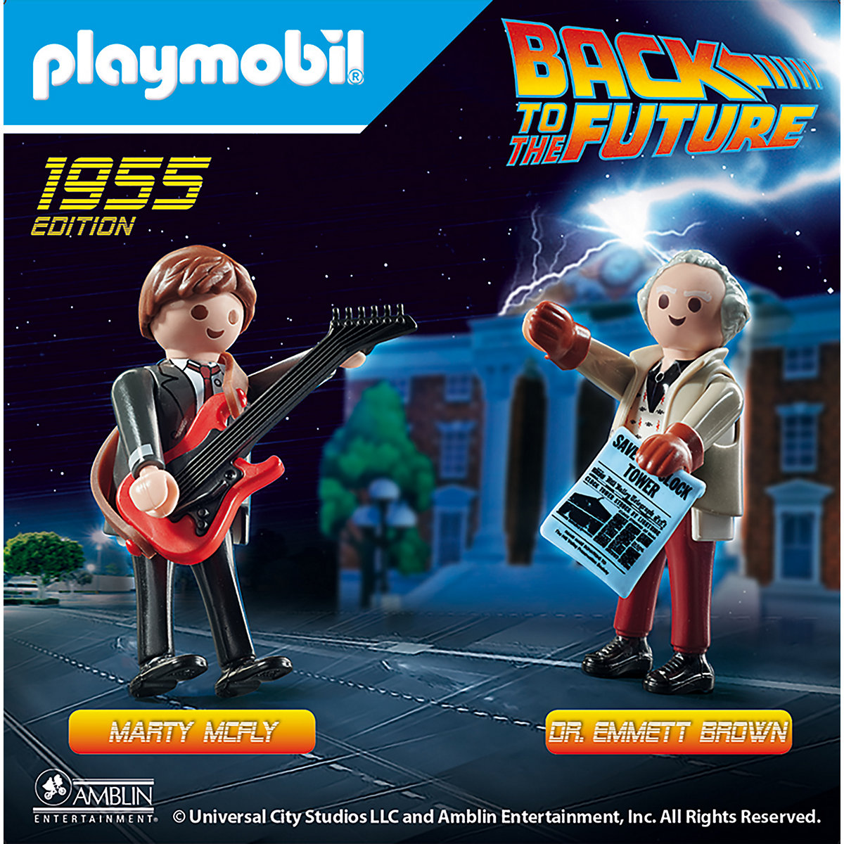 PLAYMOBIL® 70459 Back to the Future Marty McFly und Dr. Emmett Brown PLAYMOBIL Back to the Future MKbsz