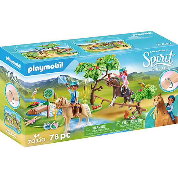 PLAYMOBIL® 70330 Spirit: Herausforderung am Fluss