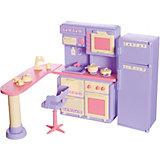 Кухня Огонёк Маленькая принцесса, сиреневая