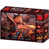 Пазл Prime 3D «Огненный дракон», 500 деталей (стереоэффект)