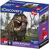 "Пазл Prime 3D ""Тираннозавр"" (""T-Rex""), 100 деталей (стереоэффект)"
