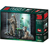 Пазл Prime 3D «Буль-буль», 500 деталей (стереоэффект)