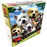Пазл Prime 3D «Собаки селфи», 48 деталей (стереоэффект)