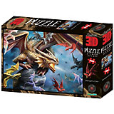 Пазл Prime 3D «Клан дракона», 500 деталей (стереоэффект)