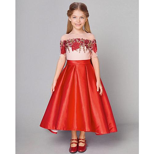 Нарядное платье Choupette - бордовый от Choupette