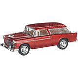 Коллекционная машинка Serinity Toys Chevrolet Nomad hardtop, бордовая
