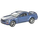 Коллекционная машинка Serinity Toys Ford Mustang GT, синяя