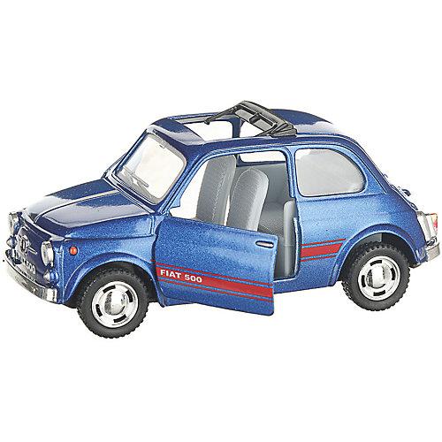 Коллекционная машинка Serinity Toys Fiat 500, синяя от Serinity Toys