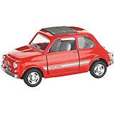 Коллекционная машинка Serinity Toys Fiat 500, красная