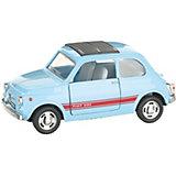 Коллекционная машинка Serinity Toys Fiat 500, голубая