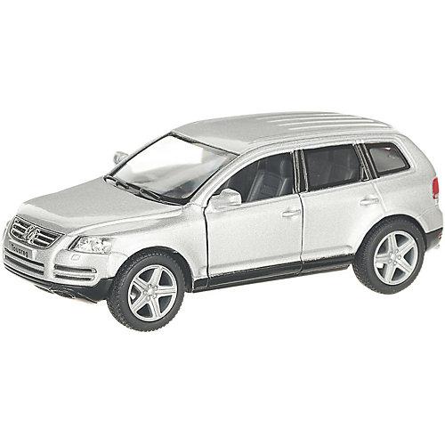Коллекционная машинка Serinity Toys Volkswagen Touareg, серебристая от Serinity Toys