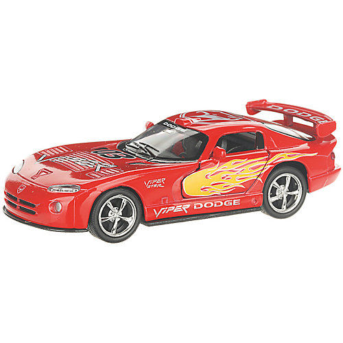 Коллекционная машинка Serinity Toys Dodge Viper раскрашенный, красная от Serinity Toys