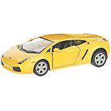 Коллекционная машинка Serinity Toys Lamborghini Gallardo, жёлтая