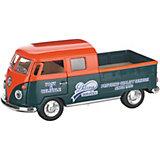 Коллекционная машинка Serinity Toys 1963 Volkswagen Пикап, оранжево-зелёная