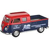 Коллекционная машинка Serinity Toys 1963 Volkswagen Пикап, красно-синяя