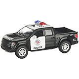 Коллекционная машинка Serinity Toys 2013 Ford F-150 SVT Raptor Полиция, чёрно-белая