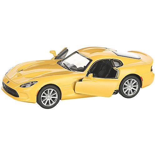 Коллекционная машинка Serinity Toys 2013 Dodge SRT Viper GTS, жёлтая от Serinity Toys