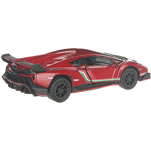 Коллекционная машинка Serinity Toys Lamborghini Veneno, бордовая от Serinity Toys