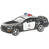 Коллекционная машинка Serinity Toys Ford Mustang GT Полиция, чёрная